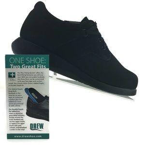 Drew krissy Black Nubuck Size 9 M